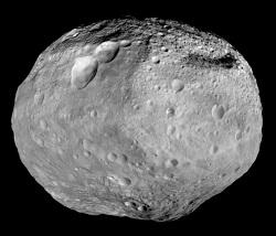 image du corps céleste de Vesta